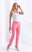 Елегантен розов дълъг панталон