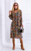 Дълга памучна рокля Fiore