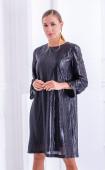 Ефектна черна рокля