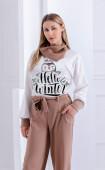 Блуза с дълъг ръкав Hello Winter
