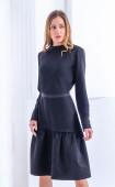 Черна ежедневна рокля