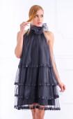 Черна официална рокля Ivy